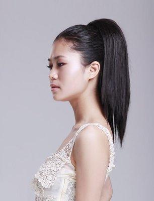 水媚兒假髮MHY010深棕♥青春可愛增量直髮馬尾 快速接髮 ♥日本高級髮絲 預購