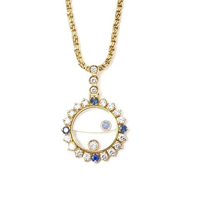 【JHT 金宏總珠寶/GIA鑽石專賣】Waltham 華爾頓 項鍊/材質:18K/(JB26-A33)