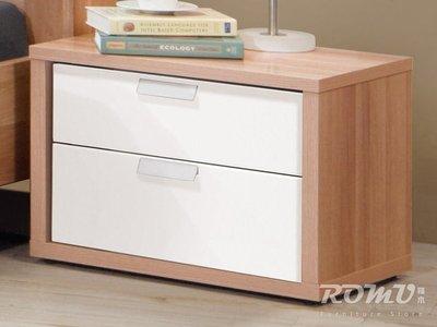 【DH】商品編號G601-5商品名稱克莉絲1.9尺抽屜床頭櫃。簡約時尚精品。主要地區免運費