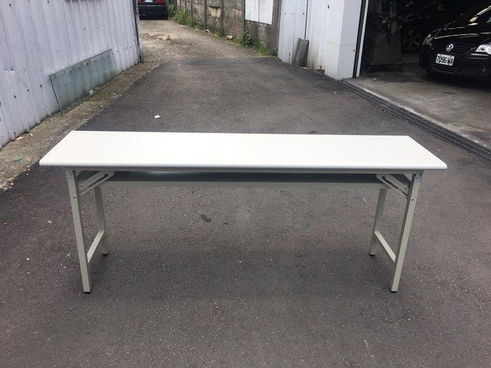 非凡二手家具 全新 檯面折合會議桌(檯面紋)*辦公桌*洽談桌*開會桌*工作桌*電腦桌*事務桌*主管桌*書桌