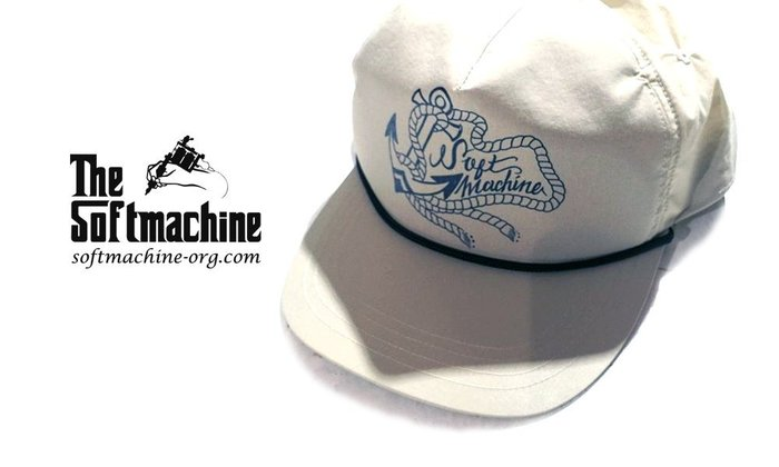 GOODFORIT / 日本品牌Softmachine MARINER刺青船矛主題棒球帽/兩色