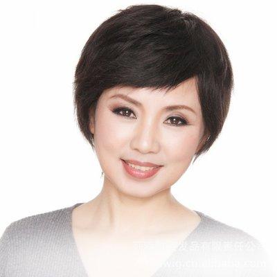 水媚兒假髮7M88HQHH♥新款女士真髮 簡約氣質 遮白髮 短髮♥ 預購 團購批發