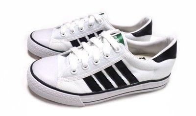 美迪-中國強-CH81-經典帆布鞋-白...