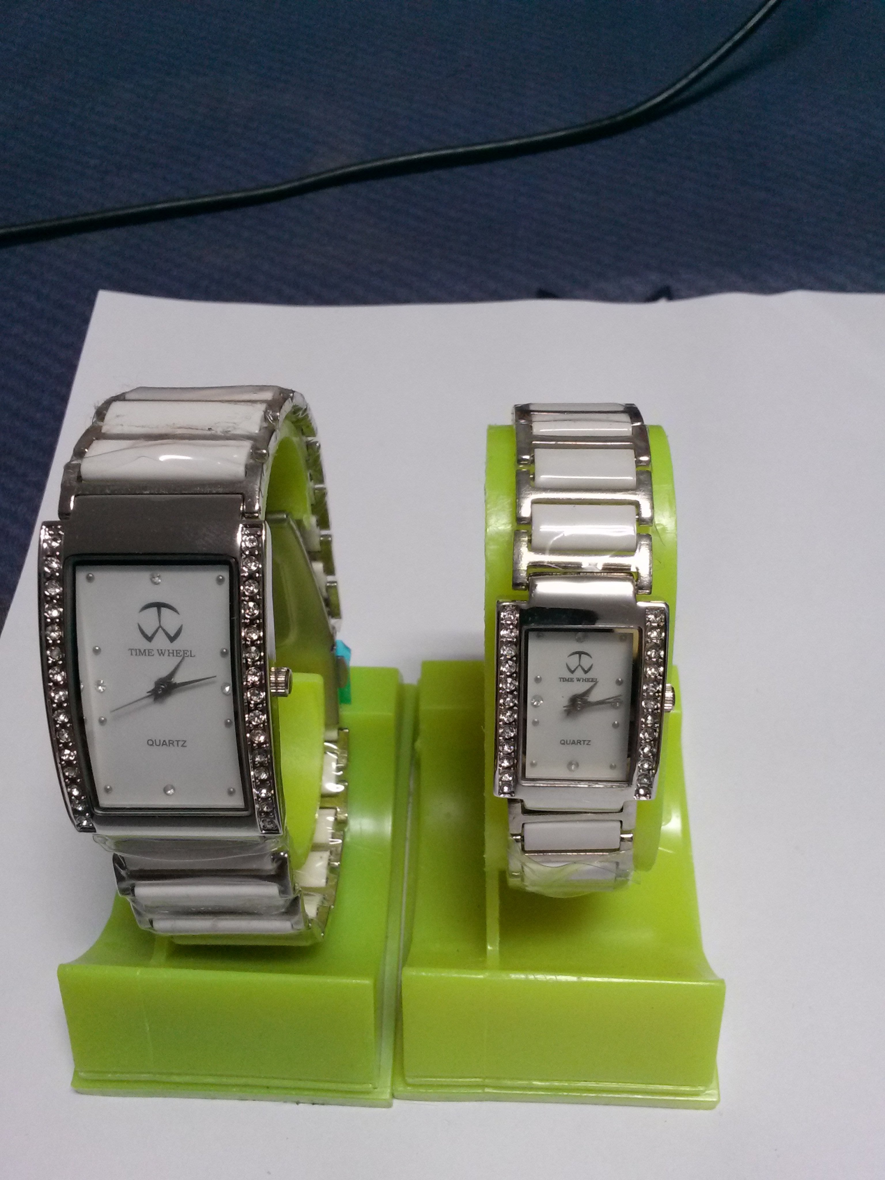 傻猴玩偶鋪~TIME WHEEL陶瓷對錶 優惠價799免運費