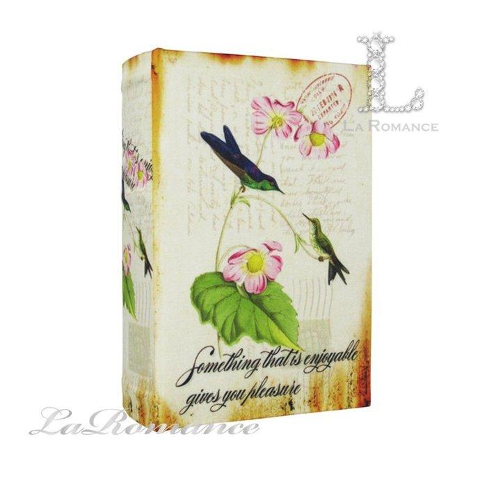 【芮洛蔓 La Romance】 歐式鳥語花香造型書盒 D / 置物、收納盒