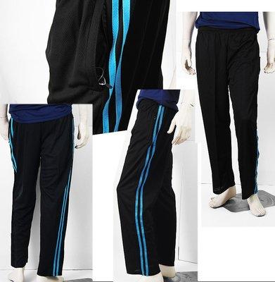 【肚子大】B732-吸濕排汗運動長褲-拉鍊口袋-輕薄透氣N拉鍊口袋