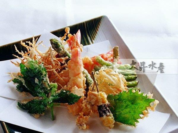 【大昇水產】日本料理/居酒屋超人氣炸蝦天婦羅-拉長草蝦大尺寸5L