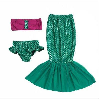 日韓歐美♥歐美女童表演美人魚 造型服裝...
