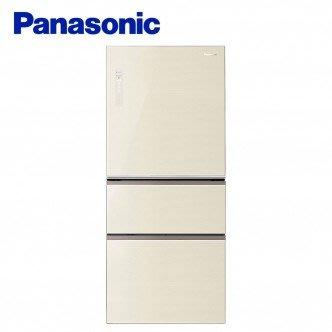 Panasonic國際 610L變頻三門冰箱 NR-C618NHG-N(翡翠金) 全新品/另售:NR-C619NHGS