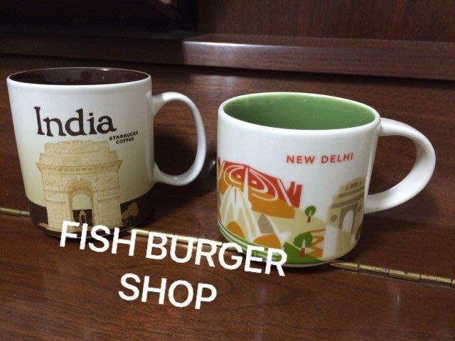 《印度 + 新德里 + 孟買 三個一組不拆》 Starbucks City Mug India 星巴克 城市杯 馬克杯