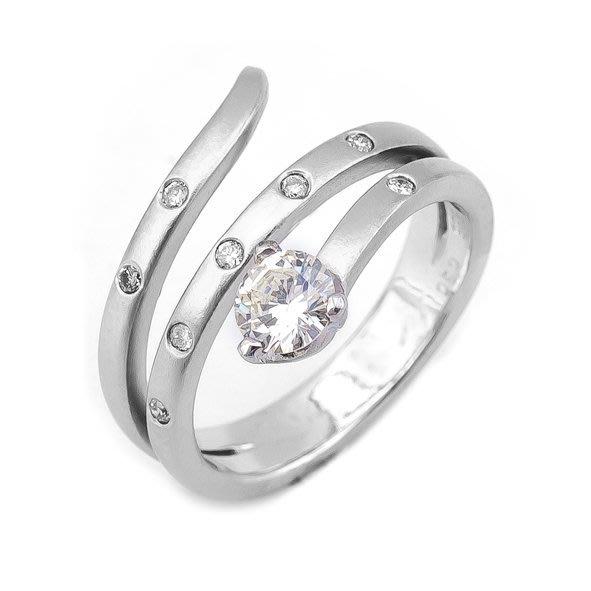 【JHT金宏總珠寶/GIA鑽石專賣】0.30ct天然鑽石造型戒指/材質:14K(D000173)