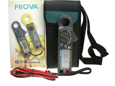 TECPEL 泰菱 》TES 泰仕  PROVA 11 微電流交直流鉤錶 1mA/30A 鉤表  PROVA11