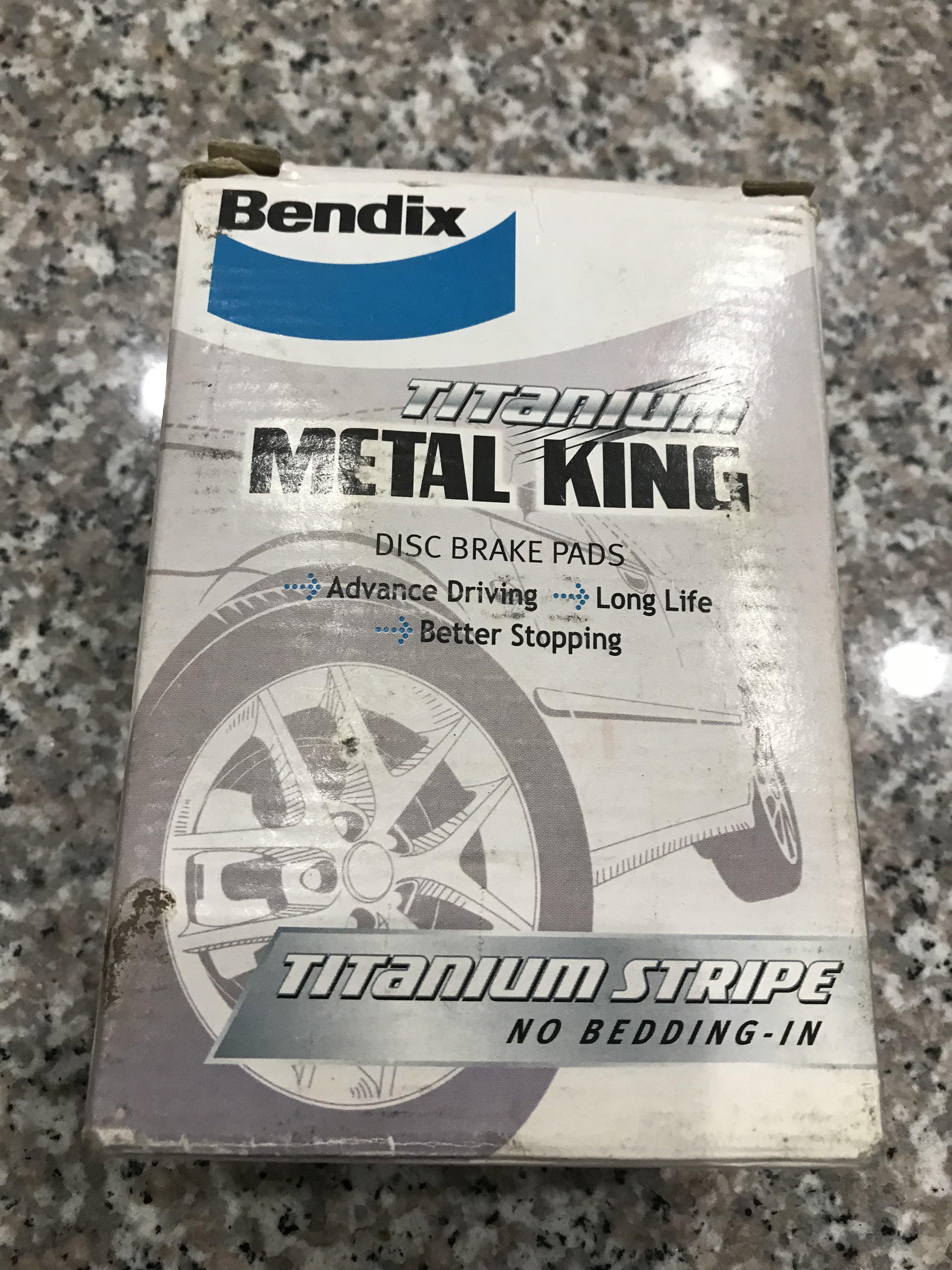 Bendix 煞車來令片(FORD FOCUS 1.8/2.0,Mazda3.5)