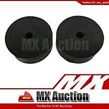 MX Auction - [AS-004] 76mm 大門 防撞膠 一對 護門膠 絕緣膠 鋁門 木門 鐵門 (黑色)