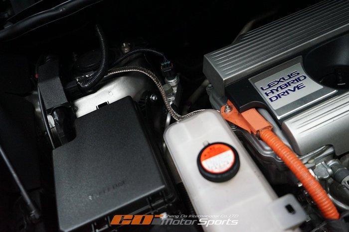 柿本改 排氣管 靜電消除-接地線 LEXUSNX300H動力/扭力/省油效果提升/電子雜訊降低 / 制動改