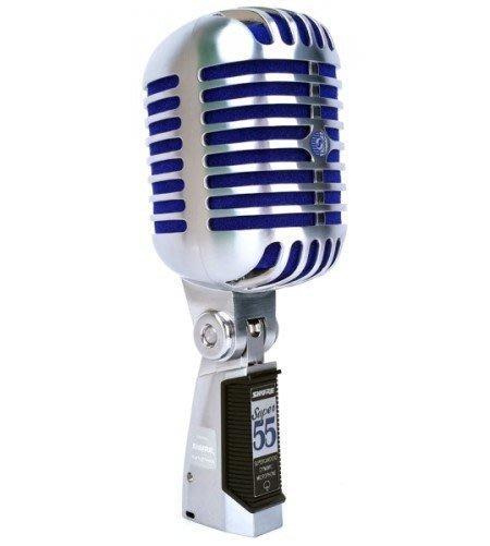 【六絃樂器】全新 Shure Super 55 動圈式經典復古麥克風 新麗聲公司貨 / 舞台音響設備 專業PA器材