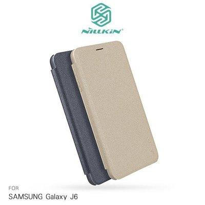 *phone寶*NILLKIN SAMSUNG Galaxy J6 星韵皮套 側翻皮套 保護套 保護殼