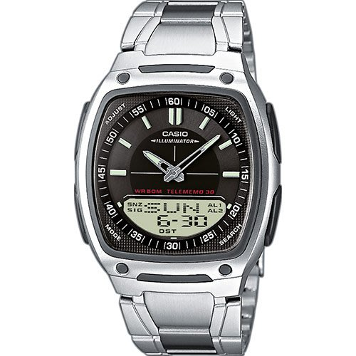 CASIO手錶 10年電力錶款AW-81D-1A 指針+數字方型雙顯錶 CASIO公司貨AW-80 AW-81