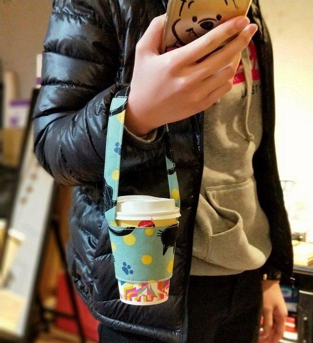環保飲料袋 超商咖啡提袋 手摇飲料袋 汪星人 喵星人