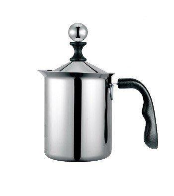 一鑫餐具【寶馬牌 電木柄單層奶泡器 大 0.8L HK-S-08-800】奶泡杯奶泡壺卡布奇諾壺