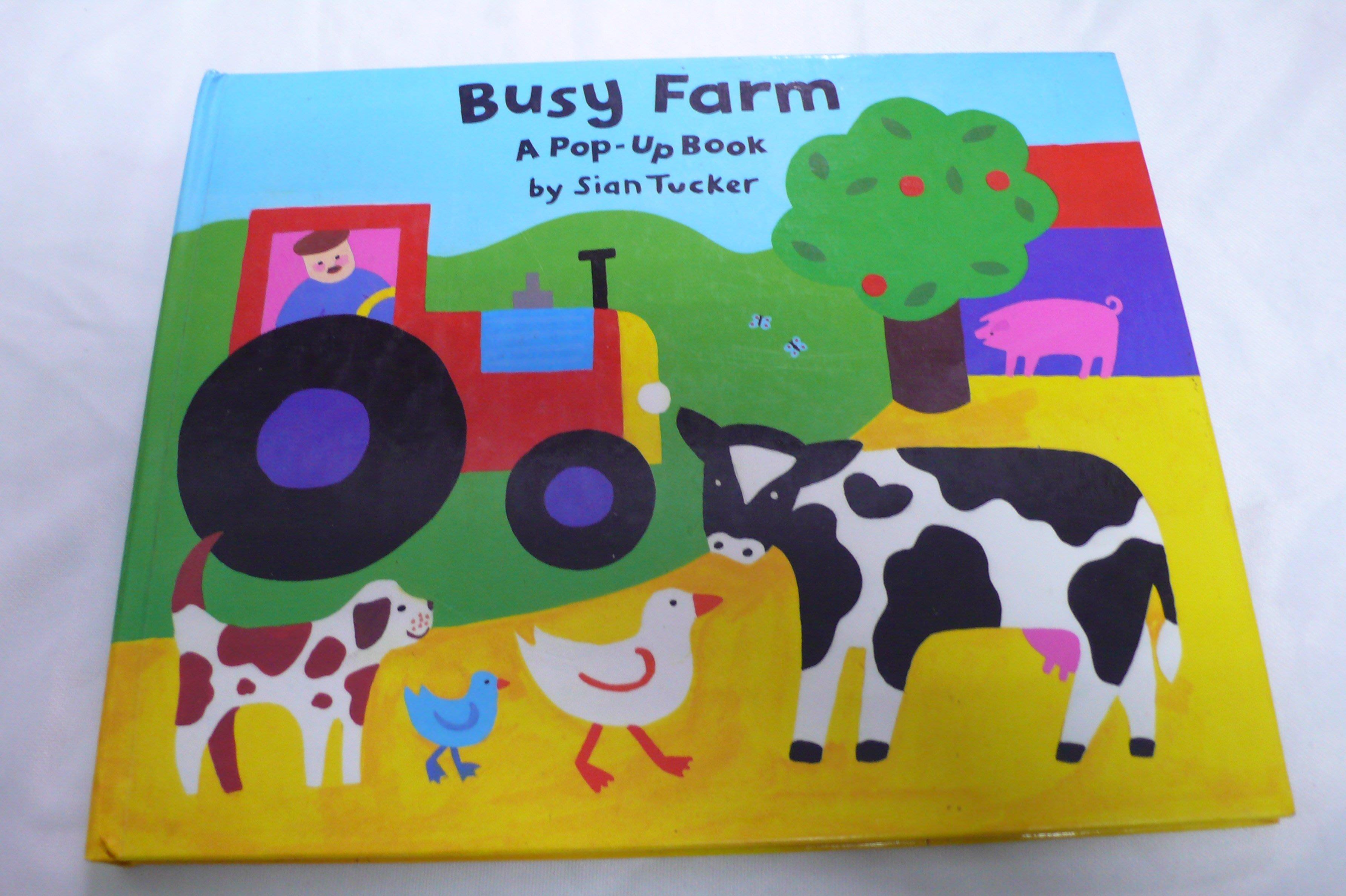 【彩虹小館】P2英文童書~Busy Farm POP-UP Book(立體書)