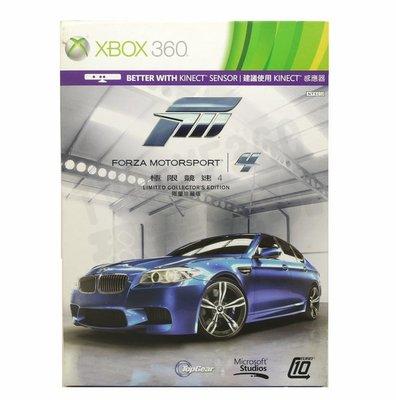 【二手遊戲】XBOX360 XBOX 360 極限競速4 FORZA MOTORSPORT 4 中英合版【台中恐龍電玩】