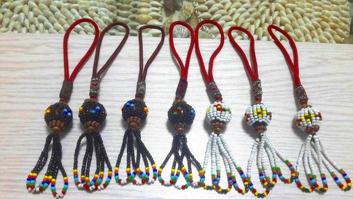 原住民手工藝品:阿美族  手機吊飾,包包吊飾,串珠吊飾 ,背包吊飾