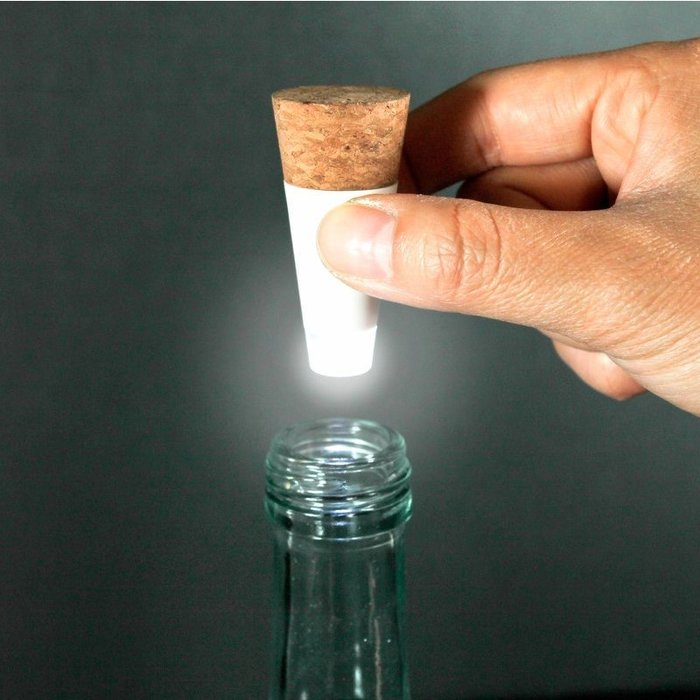 LOFT工業風 酒瓶 LED 燈- USB充電 (單色) 月亮燈 酒瓶燈 聖誕耶誕交換禮物