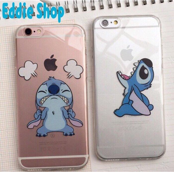 可愛史迪奇iphone6 6s手機殼 4.7寸5.5寸保護套 透明軟殼 stitch 迪士