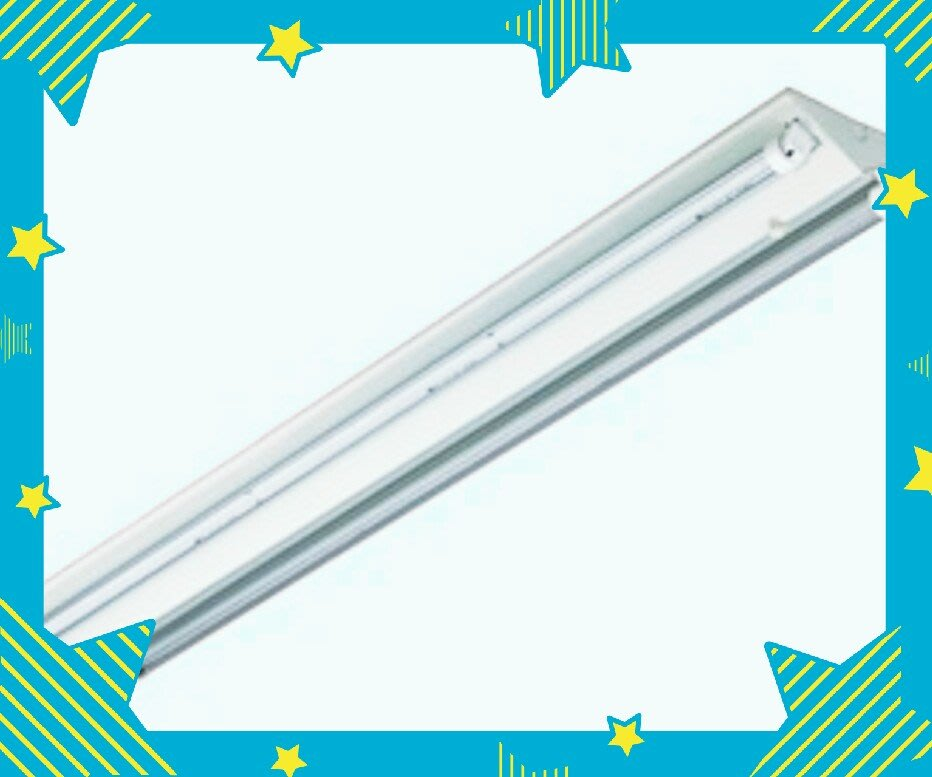 東亞4243雙管4尺吸頂燈,山型燈具,4尺雙管LED燈,全電壓,空台價
