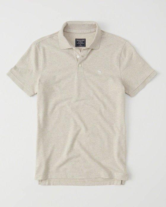 【天普小棧】AF A&F Abercrombie&Fitch Stretch Icon Polo衫短袖網眼彈性XXL號