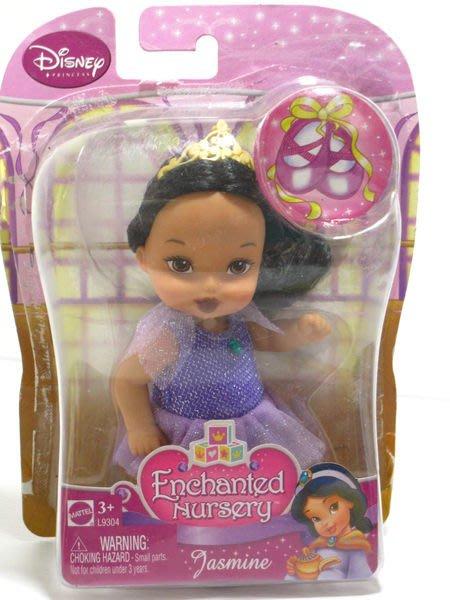 愛卡的玩具屋 ㊣正版MATTEL美泰 芭比娃娃 迪士尼公主系列 茉莉公主