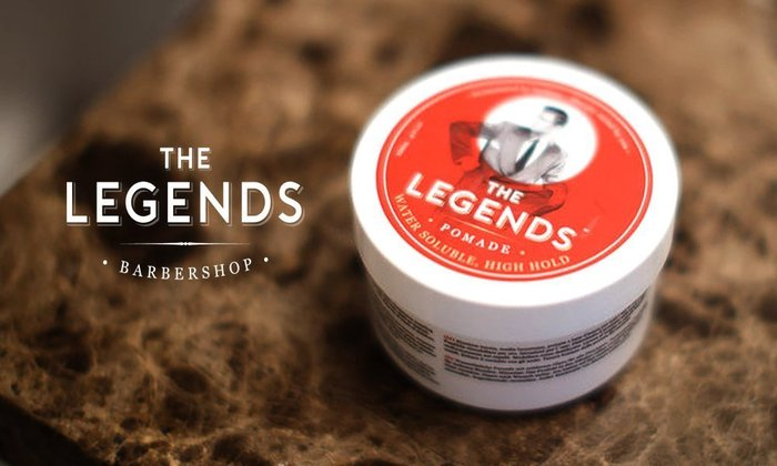 GOODFORIT / 英國The Legends London Pomade英式風格快乾強黏水性髮油/120ml