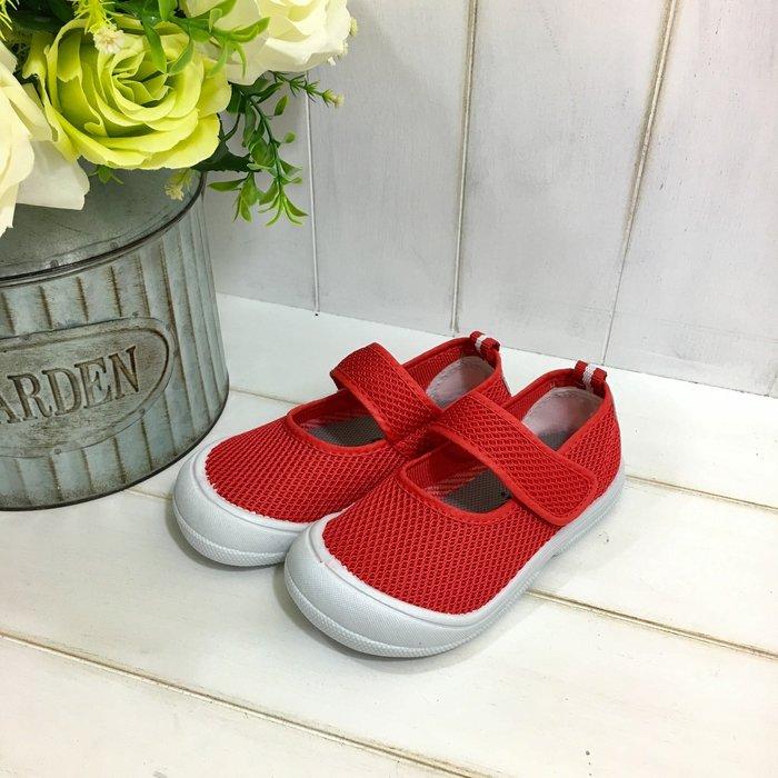 【 RGT 】全新 | 透氣網布室內鞋 | 幼兒園幼稚園安親班室內鞋/學生鞋/便鞋/休閒鞋 | 多尺寸可選 | 紅色