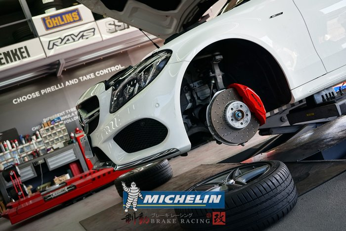 米其林 MICHELIN PILOT SPORT4 PS4 M-Benz W205 C300 各規格歡迎詢問 / 制動改