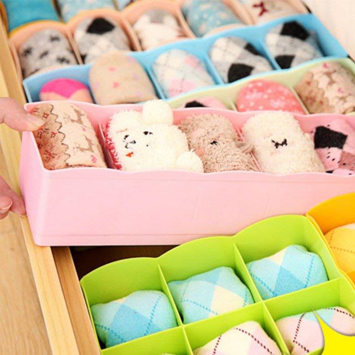 日式創意塑料抽屜內褲收納盒內衣收納盒可水洗5格襪子整理盒 5格抽屜置物盒