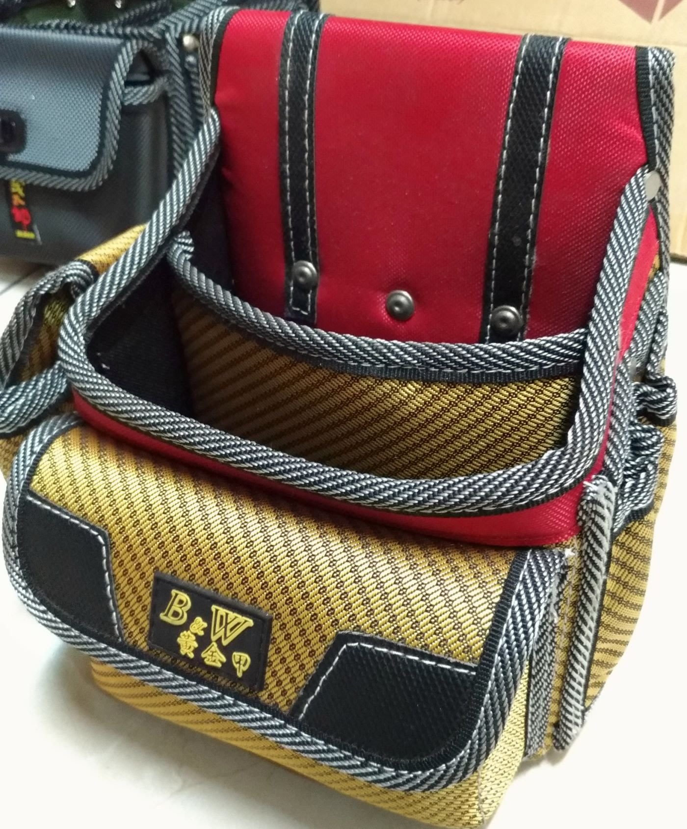 [CK五金小舖] B&W BW-618 黃金甲 釘袋 工具包 工具袋