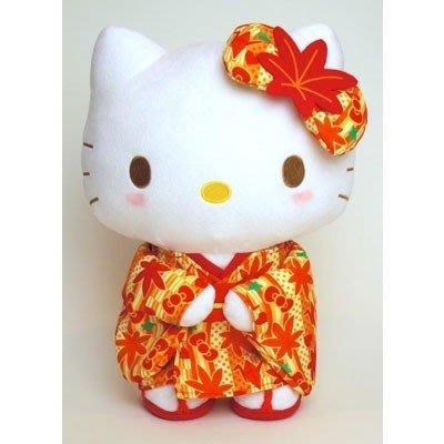 Hello Kitty KT和服毛絨娃娃M4548643106582