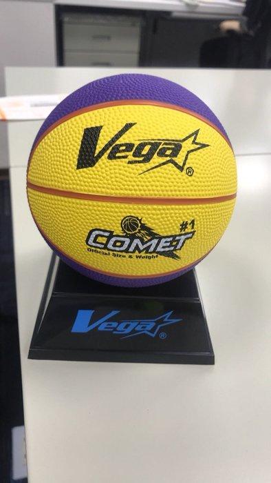 ◇ 羽球世家◇【紀念品】Vega 1號迷你小小籃球COLORFUL 紀念品 可印字☆超級可愛 重量:125-150g