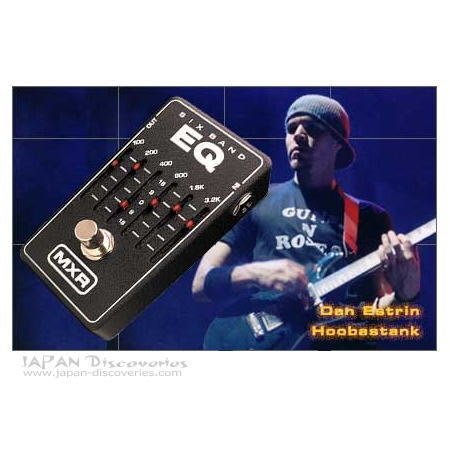 【金聲樂器】 MXR M109 6-Band EQ 效果器