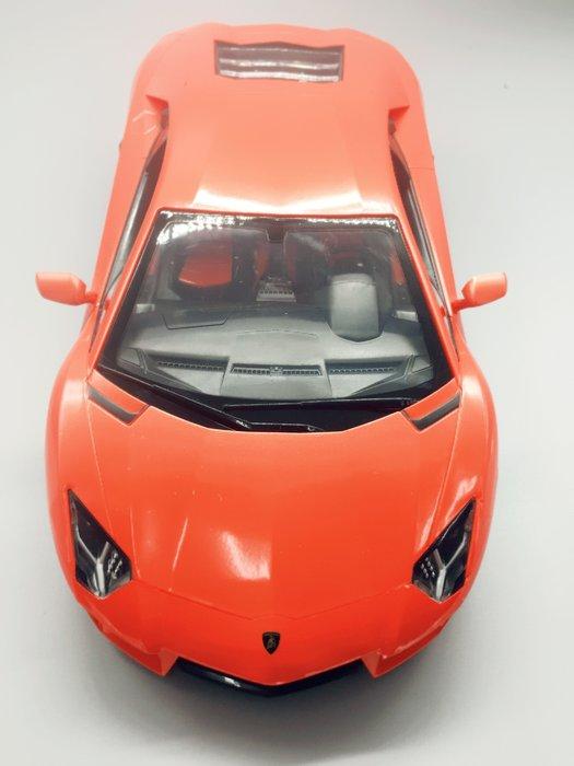阿莎力 1:14 藍寶堅尼 蠻牛 大牛 LP700 LAMBORGHINI Aventador 橘色