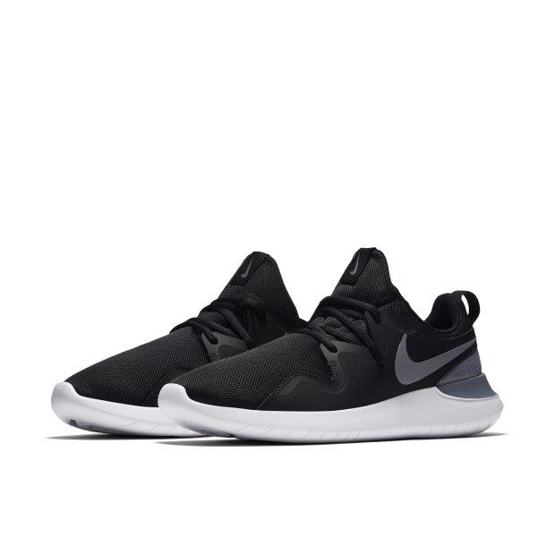 Nike Tessen 運動 休閒 慢跑鞋 黑色 AA2160 001