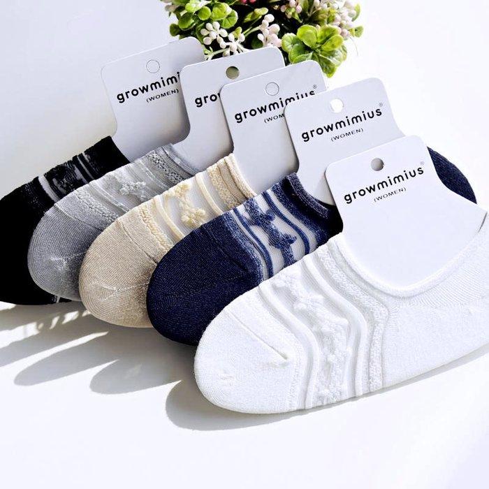 ☆。Is anything sells。☆ 竹纖維蕾絲網止滑隱形襪