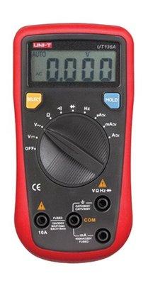 TECPEL 泰菱 》 UNI-T 優利德 UT 136A 3 3/4 電錶+自動量程 電表 UT-136A