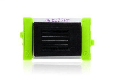 美國 littleBits 零件 (output):  BUZZER  (8折出清)