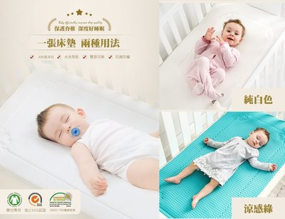 ✅ (全新)(預購)本店獨家涼感床墊✅嬰兒 寶寶 新生兒 冰絲 透氣 雙面 四季兩用床墊GIO PILLOW床墊類似款