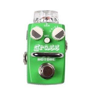 ☆ 唐尼樂器︵☆公司貨一年保固 Hotone GRASS Overdrive 電吉他/電貝斯 Bass 單顆過載效果器