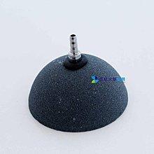 @墨耘 水草造景@直徑8cm 立體 半圓盤式 金鋼氣泡石  飛盤氣泡石  1個 160