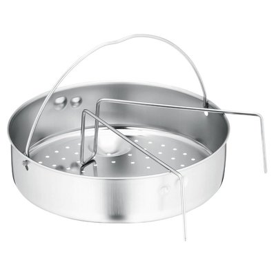 雷貝卡**德國原裝 WMF 有孔蒸盤加腳架 壓力鍋配件 /perfect /perfect pus/ pro 可用