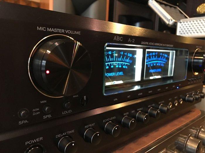 台灣製造MIT唱歌聲音迴音最優美ABC卡拉OK專業A-2擴大機350瓦大功率超好唱有實體店面可來店試唱推薦便宜出清音響店